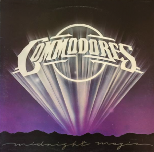 Commodores ‎- Midnight Magic (LP) (EX/VG-) (2)